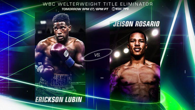 Erickson Lubin vs Jeison Rosario